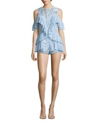 Alice Mccall You're Young So Have Fun Romper Black Ice Blue