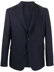 Officine Generale Single Breasted Fitted Blazer 60