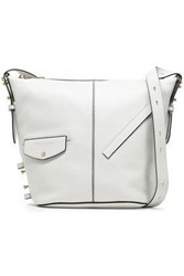 Marc Jacobs Woman Studded Leather Tote Off White Off White