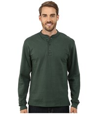 Mountain Khakis Trapper Henley Shirt Hunter Green Men's Long Sleeve Pullover