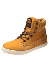 Dockers By Gerli Hightop Trainers Golden Tan Beige