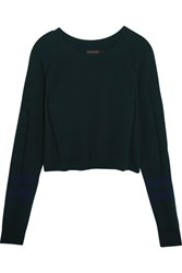Lndr Ace Cropped Knit Sweater Emerald