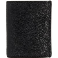 Thom Browne Black Double Card Holder