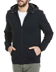 Bench Solid Long Sleeve Hooded Jacket Black