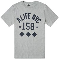 Alife Like No Other Diamond Tee Grey Heather