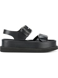 Stella Mccartney Submerge Flatform Sandals Black