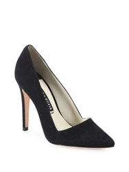 Alice Olivia Dina Suede Pumps Black