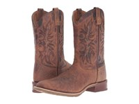 Laredo Durant Rust Copper Cowboy Boots Brown