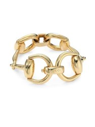 Gucci Horsebit 18K Yellow Gold Bracelet