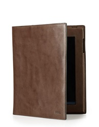 Polo Ralph Lauren Leather Media Case Brown