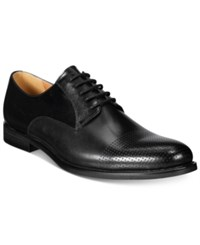 Bar Iii Men's Jamie Perforated Plain Toe Oxfords Only At Macy's Men's Shoes Black
