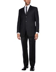 Belvest Suits Black