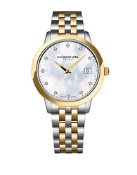 Raymond Weil Tocatta Collection Two Tone Stainless Steel And Yellow Gold Watch