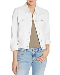 5933a23436d Mavi Jeans Samantha White Denim Jacket White Nolita