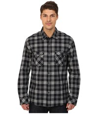 Quiksilver Everyday Flannel Long Sleeve Everyday Flannel Anthracite Men's Clothing