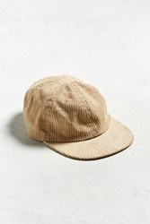 Urban Outfitters Uo Corduroy Baseball Hat Tan