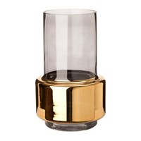 Pols Potten Lobby Vase Smoke Gold