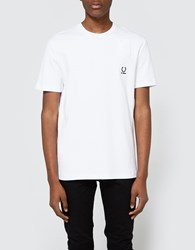 Fred Perry Denim Pocket T Shirt White