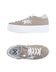 2Star Footwear Low Tops And Trainers Women Khaki