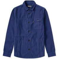 Barbour Seaton Overshirt Blue