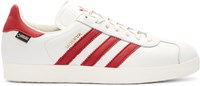Adidas Originals White And Red Moskva Gtx Sneakers