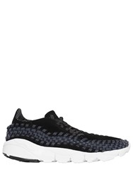 Nike Air Footscape Suede And Woven Sneakers