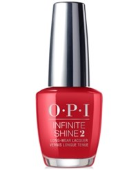 Opi Infinite Shine Shades Big Apple Red