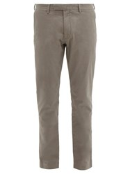 Polo Ralph Lauren Slim Stretch Cotton Chino Trousers Grey