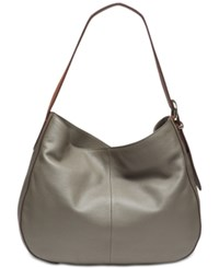 Dkny Bessie Large Hobo Created For Macy's Grey