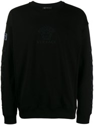 Versace Medusa Logo Sweater Black