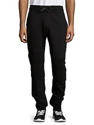 Madison Supply Cotton Blend Ankle Zip Sweatpants Navy