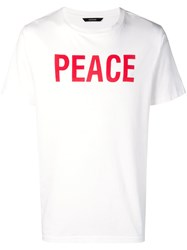 Zadig And Voltaire Tibo Printed T Shirt White