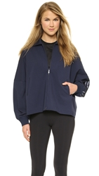 Y 3 Lux Track Zip Up Jacket Navy Black