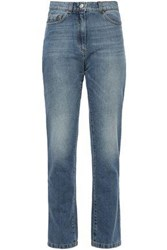 Magda Butrym Woman Stephenville High Rise Straight Leg Jeans Mid Denim