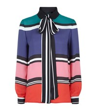 Elie Saab Bold Stripe Shirt Female Multi