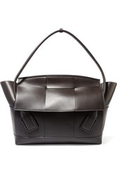 Bottega Veneta The Arco Large Leather Tote Brown