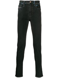 Diesel D Istort Coloured Skinny Jeans Black