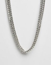 Cheap Monday Stamp Necklace Silver
