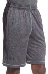 Under Armour Men's 'Raid' Heatgear Loose Fit Athletic Shorts Steel Black