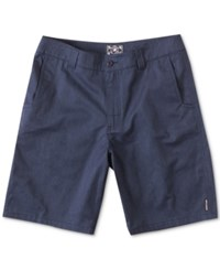 Metal Mulisha Straight Away Chino Shorts Heather Blue