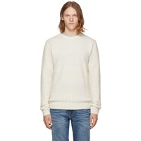 Tiger Of Sweden Off White Rute Sweater
