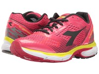 Diadora N 6100 4 Teaberry Black Women's Shoes Pink
