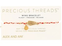 Alex And Ani Precious Threads Wing Royal Cardinal Braid Assorted Bracelet Multi