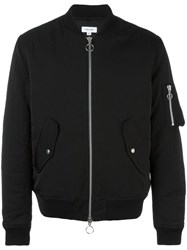 Soulland 'Thomasson' Bomber Jacket Black