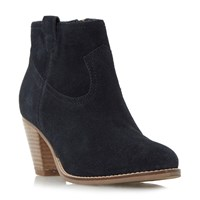 Linea Pabbla Western Boots Navy