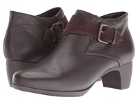 Softwalk Imlay Dark Brown Veg Tumbled Leather Cow Suede Women's Boots