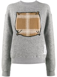 Julien David Contrast Drawing Jumper 60