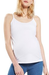 Topshop Women's Maternity Nursing Camisole White