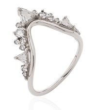 Fernando Jorge Fusion Large Wave Ring Female Silver