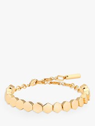 Karen Millen Hexagon Bracelet Gold